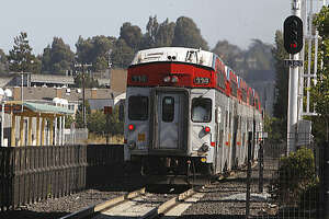 Woman hit, killed by Caltrain in Belmont - Photo