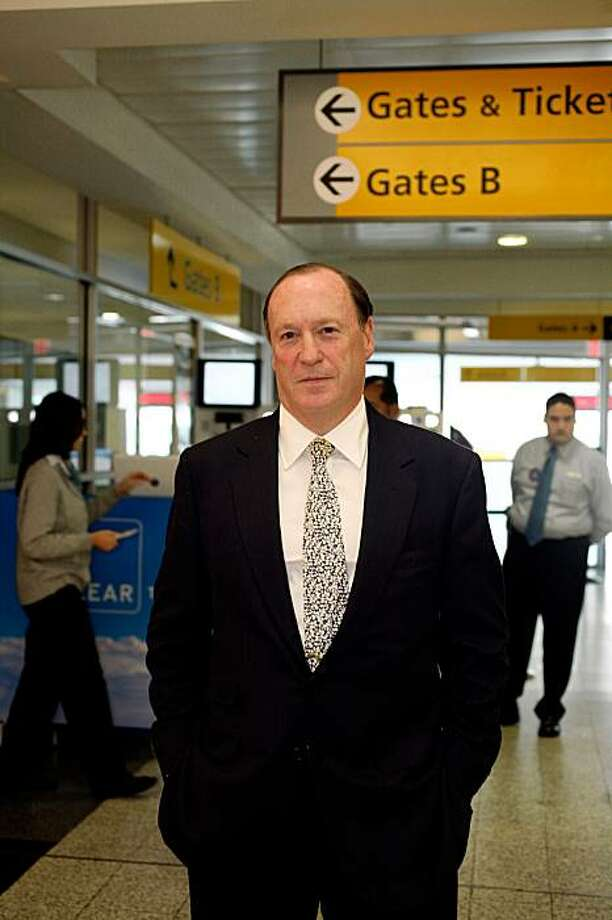 *FILE PHOTO* --  Steven Brill, a founder of Journalism Online at LaGuardia airport in Queens in 2007. Five months ago, a group of media executives including Steven Brill seemed to have the field to themselves when they said they were building a system for newspapers to charge readers for access online. Now, they appear have a lot of company, from Rupert Murdoch's News Corporation to technology giants such as Google, Microsoft and IBM, whose interest was first reported this week. But publishing executives and analysts caution against the conclusion that this proves there is a robust competition to develop such systems, or even that newspapers, despite their eagerness to find a new source of revenue, will rush to join any of the projects. (Chester Higgins Jr./The New York Times) Photo: Chester Higgins Jr., NYT