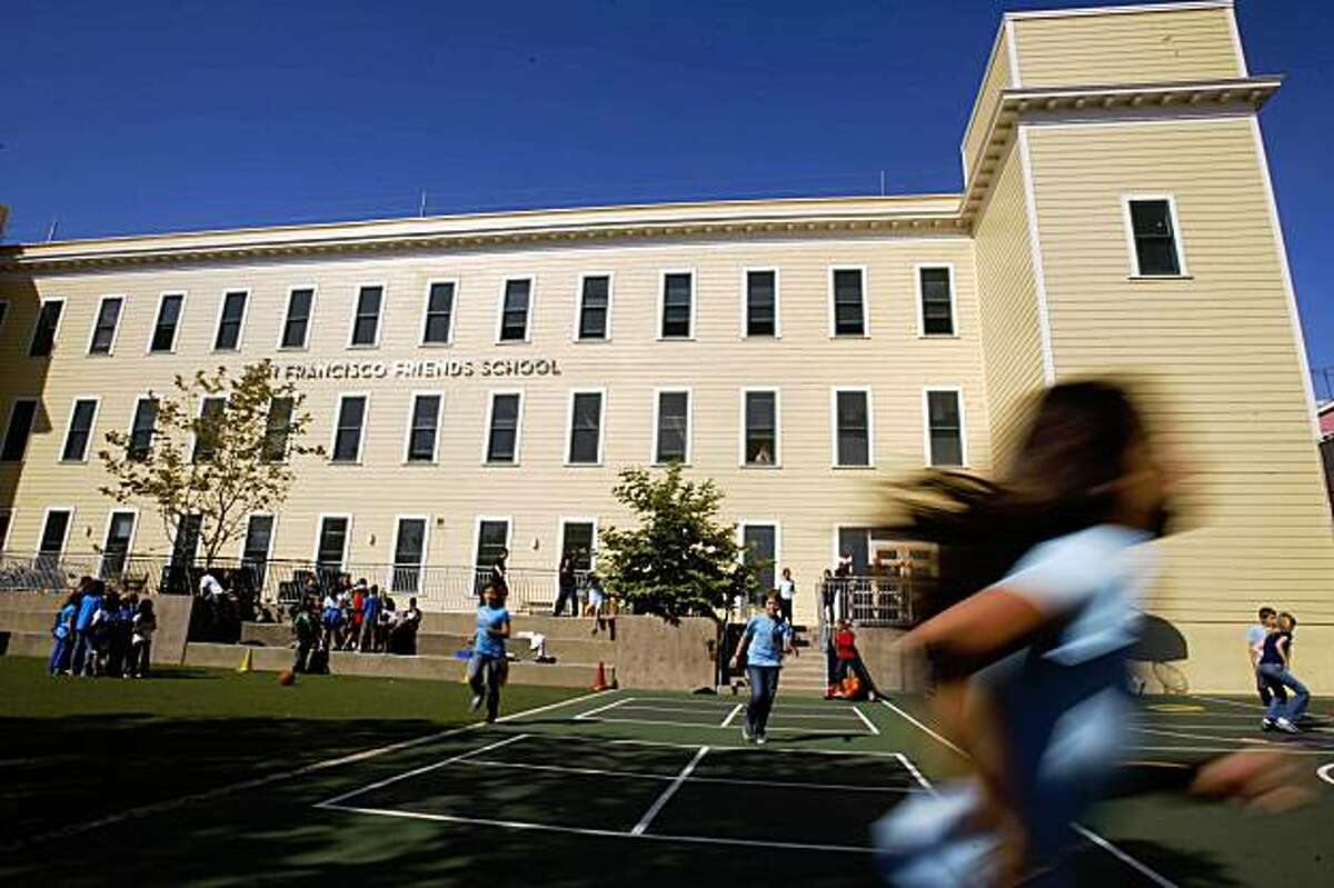 The San Francisco Friends School is seen in San Francisco, Calif. on Thursday, September 10, 2009.