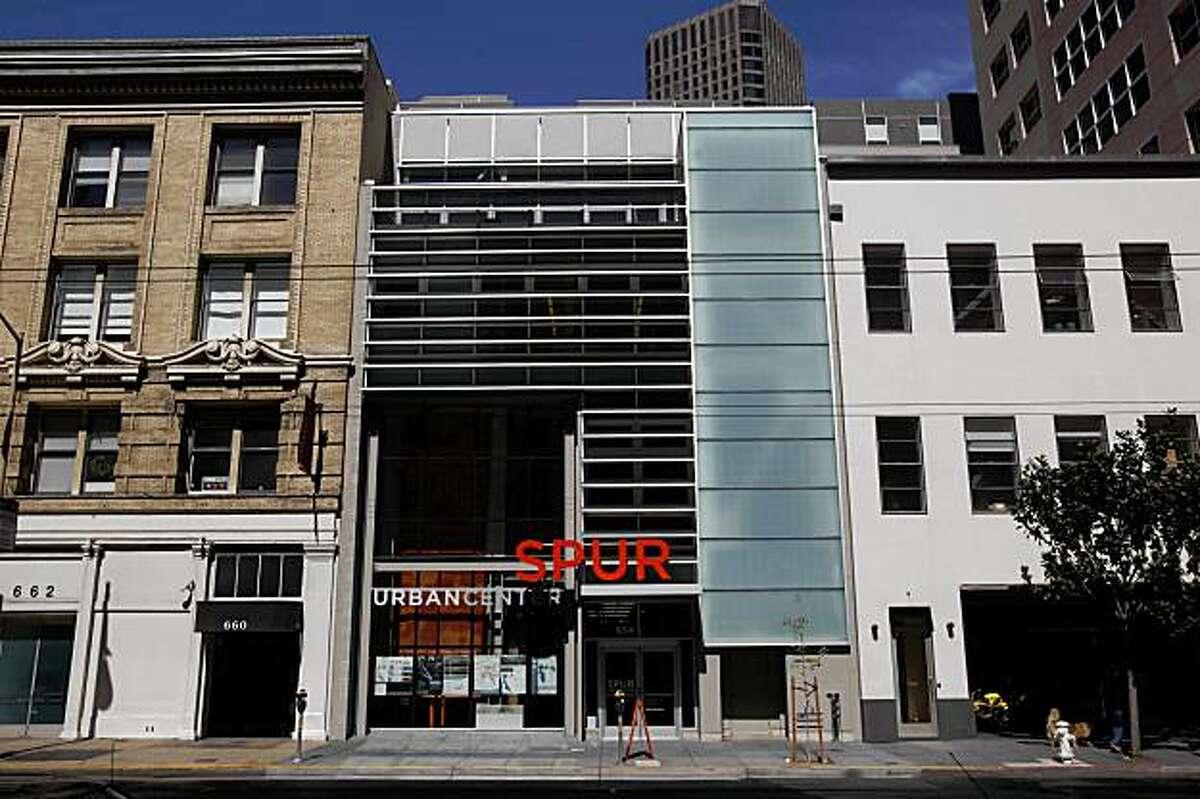 The Spur Urban Center is seen in San Francisco, Calif. on Thursday, September 10, 2009.