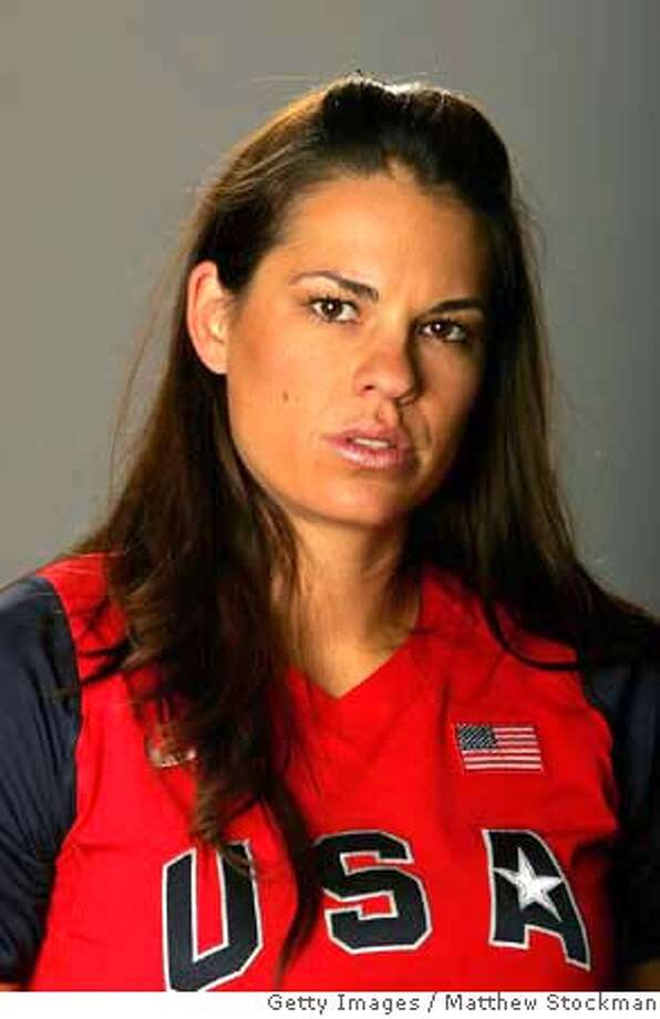 ###Live Caption:CHICAGO - APRIL 14: Softball player Jessica Mendoza poses for a portrait during the 2008 U.S. Olympic Team Media Summitt at the Palmer House Hilton on April 14, 2008 in Chicago, Illinois. (Photo by Matthew Stockman/Getty Images)###Caption History:CHICAGO - APRIL 14: Softball player Jessica Mendoza poses for a portrait during the 2008 U.S. Olympic Team Media Summitt at the Palmer House Hilton on April 14, 2008 in Chicago, Illinois. (Photo by Matthew Stockman/Getty Images)###Notes:2008 U.S. Olympic Team Media Summit###Special Instructions: Photo: Matthew Stockman