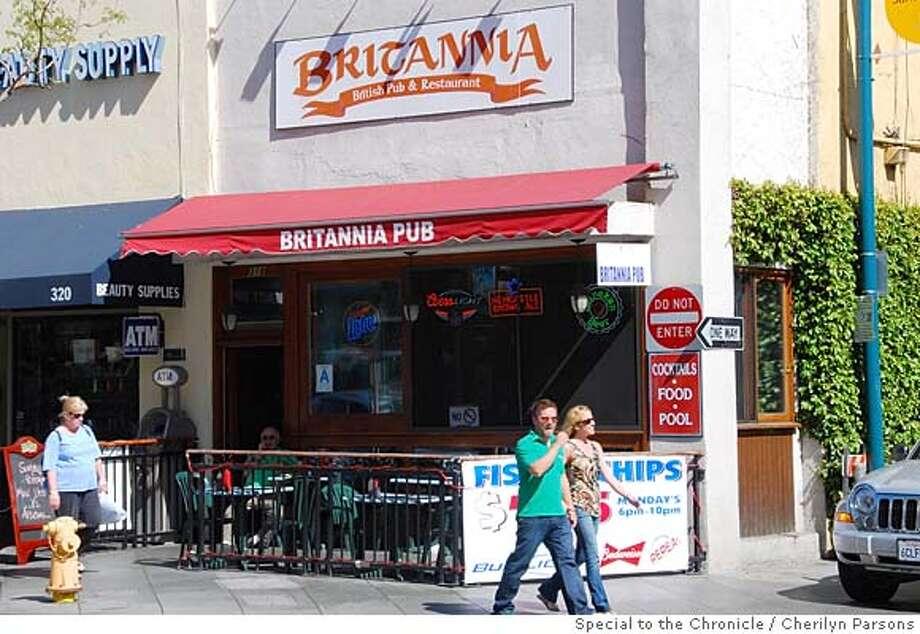 Britannia is one of three authentic British pubs in Santa Monica. Photo: Cherilyn Parsons