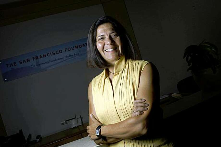 Sandra Hernandez, San Francisco Foundation Chief Executive Officer, is seen in San Francisco, Calif. on Thursday, September 3, 2009. Photo: Lea Suzuki, The Chronicle
