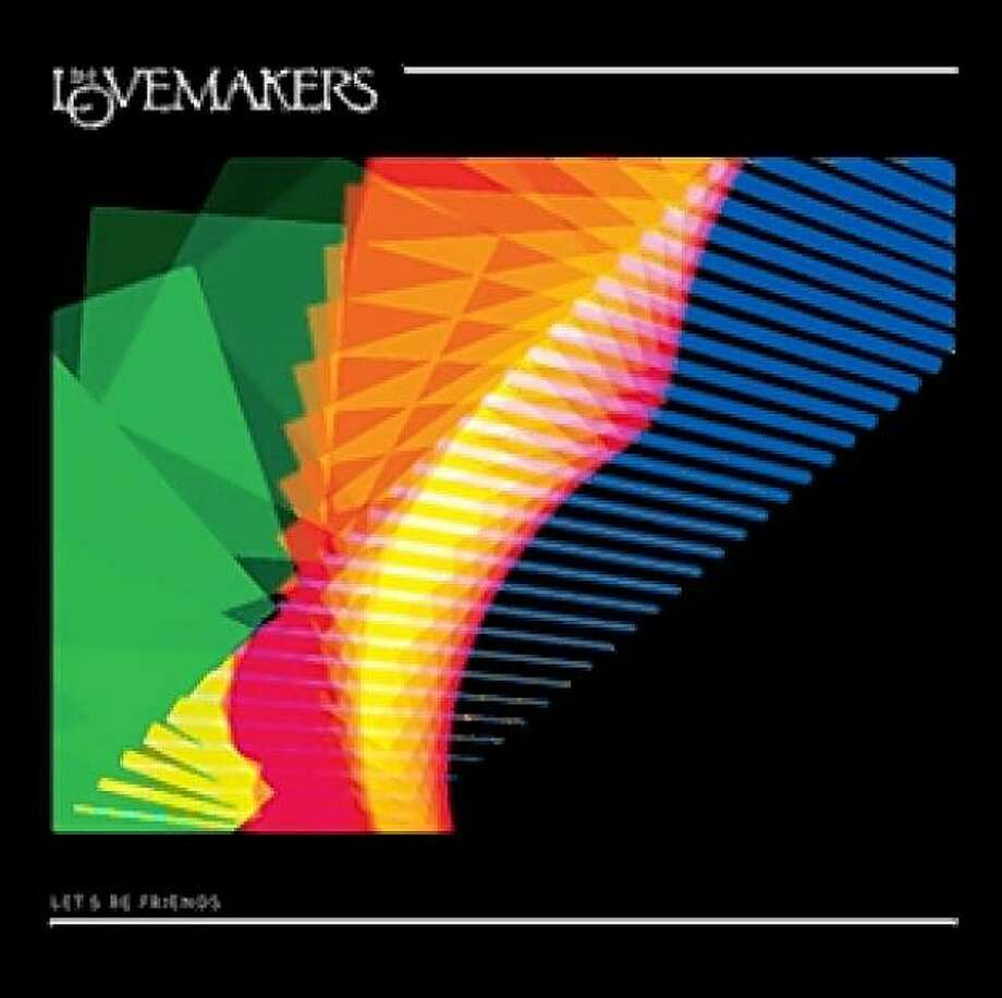 "The Lovemakers ""Let's Be Friends"" (2009) cover art Photo: Talking House Records"