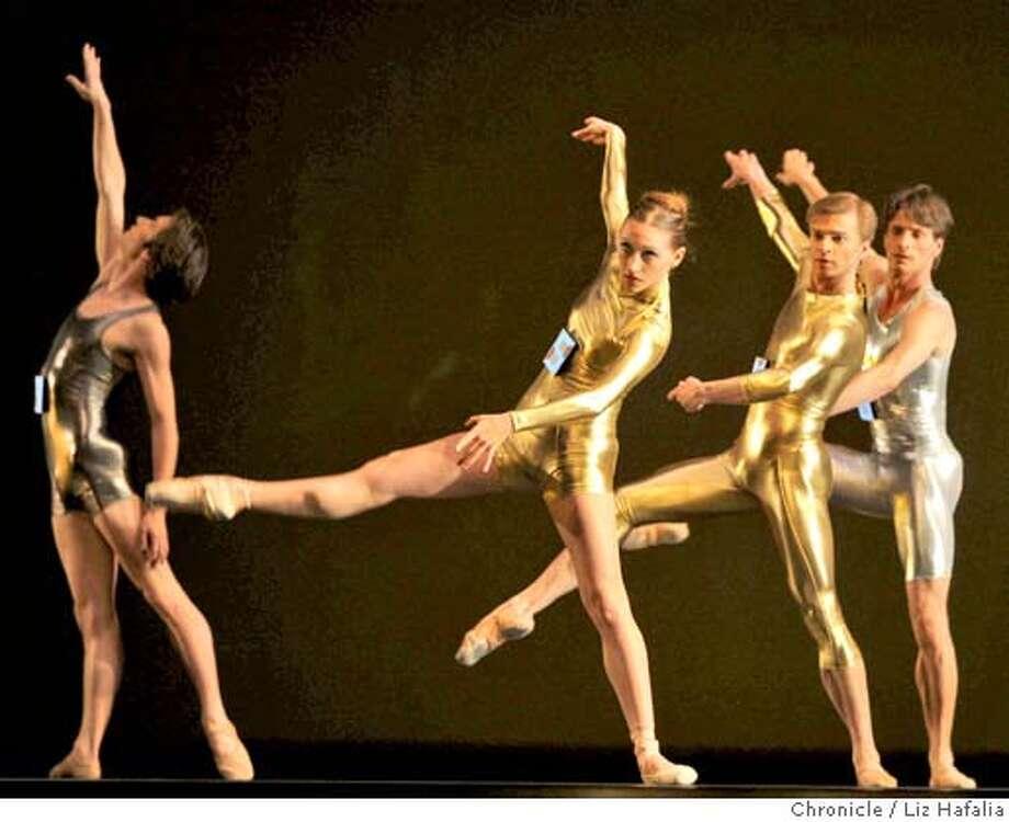 "Dress rehearsal of ""Joyride"" danced by the SF Ballet in San Francisco, Calif., on Wednesday, April 23, 2008. Photo by Liz Hafalia / San Francisco Chronicle Photo: Liz Hafalia"