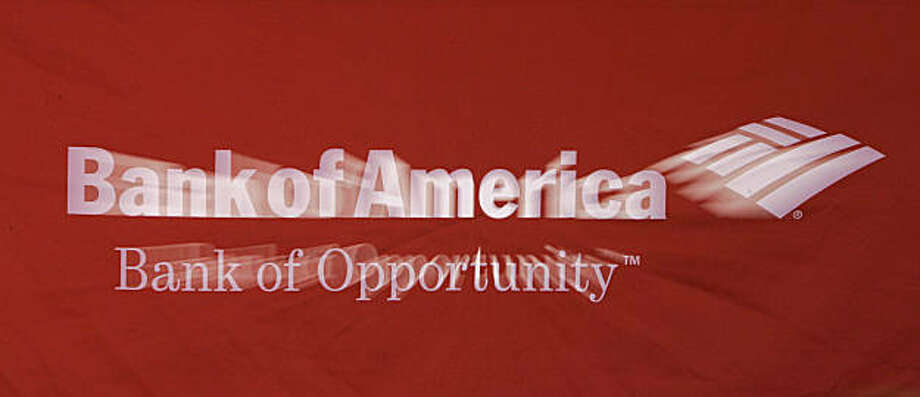 FILE - In this Jan. 22, 2008 file photo, a Bank of America logo is shown in Concord, N.C. A federal judge on Monday, Sept. 14, 2009, rejected a $33 million settlement between the Securities and Exchange Commission and Bank of America Corp. over bonuses paid by Merrill Lynch.(AP Photo/Chuck Burton, file) Photo: Chuck Burton, AP