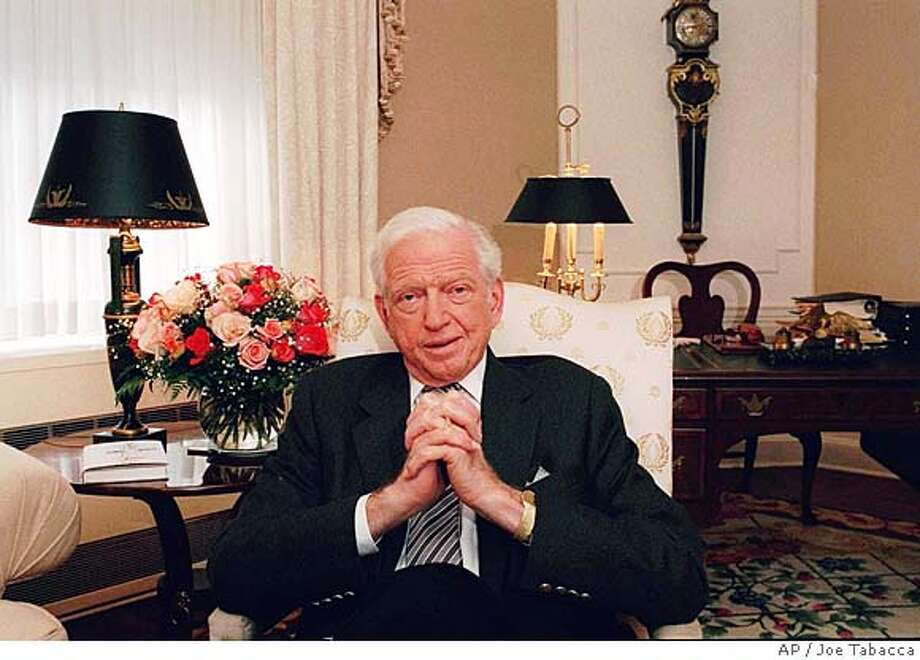 ###Live Caption:The estate of the late bestselling author Sidney Sheldon is selling the Palm Springs compound where Sheldon wrote his 18 novels. It's listed for sale at $6.45 million.###Caption History:** FILE ** Author Sidney Sheldon, 80, is photographed at New York's Waldorf Astoria in this October 1997 file photo. Sheldon, who won awards in three careers- Broadway theater, movies and television- before turning to writing best-selling novels, died Tuesday, Jan. 30, 2007. He was 89. (AP Photo/Joe Tabacca)  Ran on: 01-31-2007 Ran on: 01-31-2007 Ran on: 01-31-2007###Notes:###Special Instructions:OCTOBER 1997 FILE PHOTO Photo: JOE TABACCA