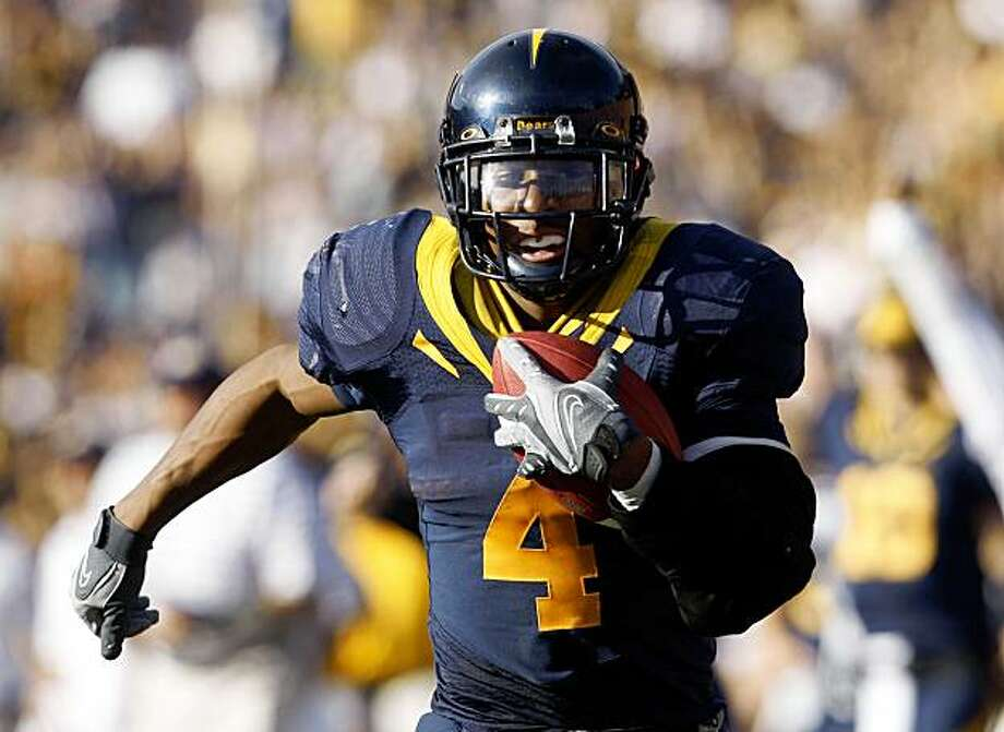 Cal football Cal's Jahvid Best runs for a third quarter touchdown. Best had 201 yards for the day. California defeated Stanford 37-16 in the annual Big Game in Berkeley, Calif, on Saturday, Nov. 22, 2008.  Ran on: 12-25-2008 Medal haul: Natalie Coughlin took gold in the backstroke and earned more Beijing medals than any woman. Photo: Kurt Rogers, The Chronicle