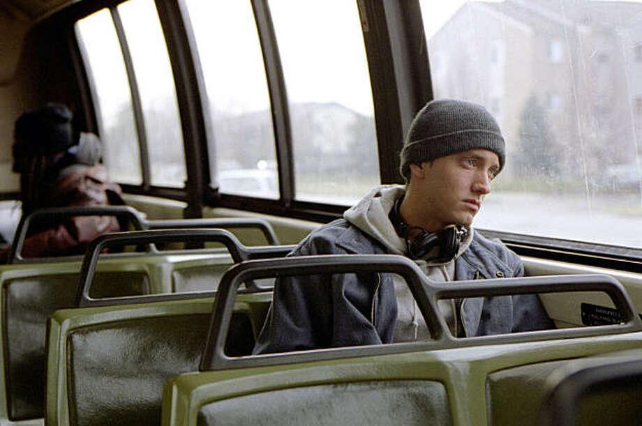 "Eminem in ""8 Mile"" movie Photo: Eli Reed"
