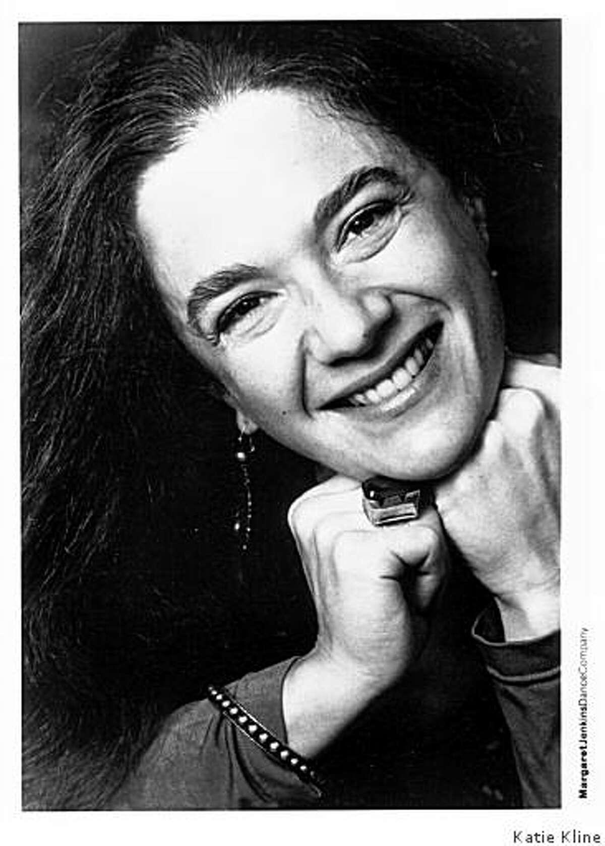 Choreographer Margaret Jenkins.