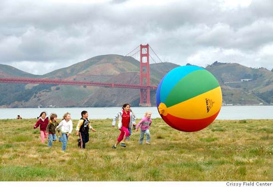 The Crissy Field Center hosts the second annual Earth Day Stroll, an interactive fitness walk around Crissy Field guided by your very own Eco-Passport, taking place Saturday, April 19. Photo: Crissy Field Center