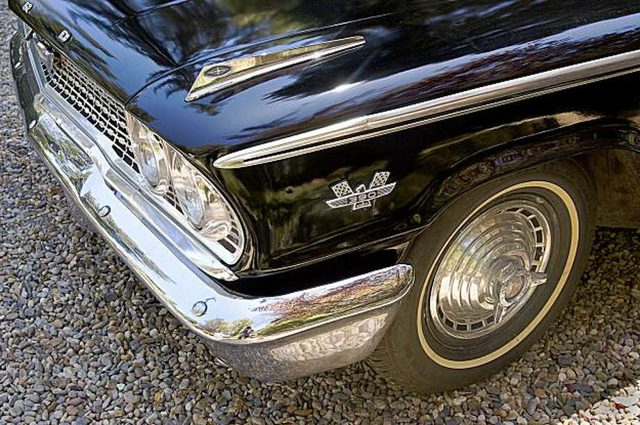 Norman Grib purchased his 1963 Ford Galaxie brand new from Jack Irwin Ford in Salinas for $3,500. Photo: Stephen Finerty