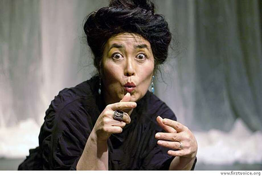 """###Live Caption:Japanese storyteller Brenda Wong Aoki will present """"Ghosts and Girls,"""" a performances combining supernatural tales and jazz music, Friday, April 25 and Saturday, April 26 at the Jewish Community Center of San Francisco's Kanbar Hall.  credit: courtesy JCCSF###Caption History:Japanese storyteller Brenda Wong Aoki will present """"Ghosts and Girls,"""" a performances combining supernatural tales and jazz music, Friday, April 25 and Saturday, April 26 at the Jewish Community Center of San Francisco's Kanbar Hall.###Notes:Press Contact: Jon Finck & Brenda Hughes, Encore Communications 415/438-9933 or mail@encore-sf.com###Special Instructions: Photo: Courtesy JCCSF"""