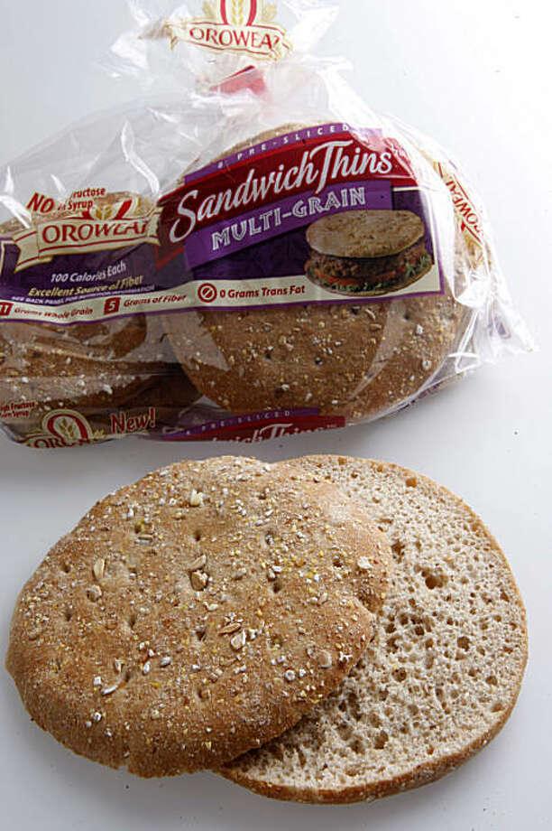 Orowheat multi-grain sandwich thins in San Francisco Calif., on Wednesday, August 5, 2009. Photo: Liz Hafalia, The Chronicle