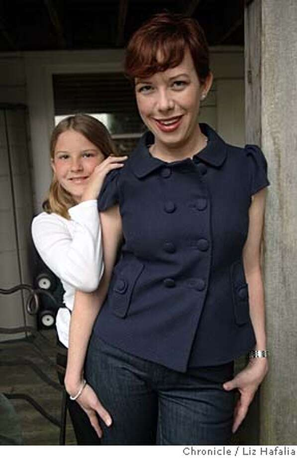 ###Live Caption:Lindsey Heller (right) visits Isabella Coolins (left), 10 years old, in San Francisco, Calif., on Friday, March 28, 2008. When Isabella was 8 mos. old, Lindsey was her nanny.  Photo by Liz Hafalia / San Francisco Chronicle###Caption History:Lindsey Heller (right) visits Isabella Coolins (left), 10 years old, in San Francisco, Calif., on Friday, March 28, 2008. When Isabella was 8 mos. old, Lindsey was her nanny.  Photo by Liz Hafalia / San Francisco Chronicle###Notes:Lindsey Heller (right) visits Isabella Coolins (left), 10 years old, in San Francisco, Calif., on Friday, March 28, 2008. When Isabella was 8 mos. old, Lindsey was her nanny. Liz Hafalia / The Chronicle / {city } / 3/28/08  **Lindsey Heller, Isabella C###Special Instructions:�2008, San Francisco Chronicle/ Liz Hafalia  MANDATORY CREDIT FOR PHOTOG AND SAN FRANCISCO CHRONICLE. NO SALES- MAGS OUT. Photo: Liz Hafalia