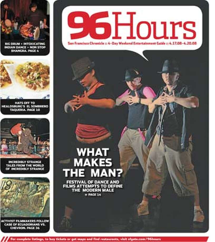 96 Hours cover: Stepping Out