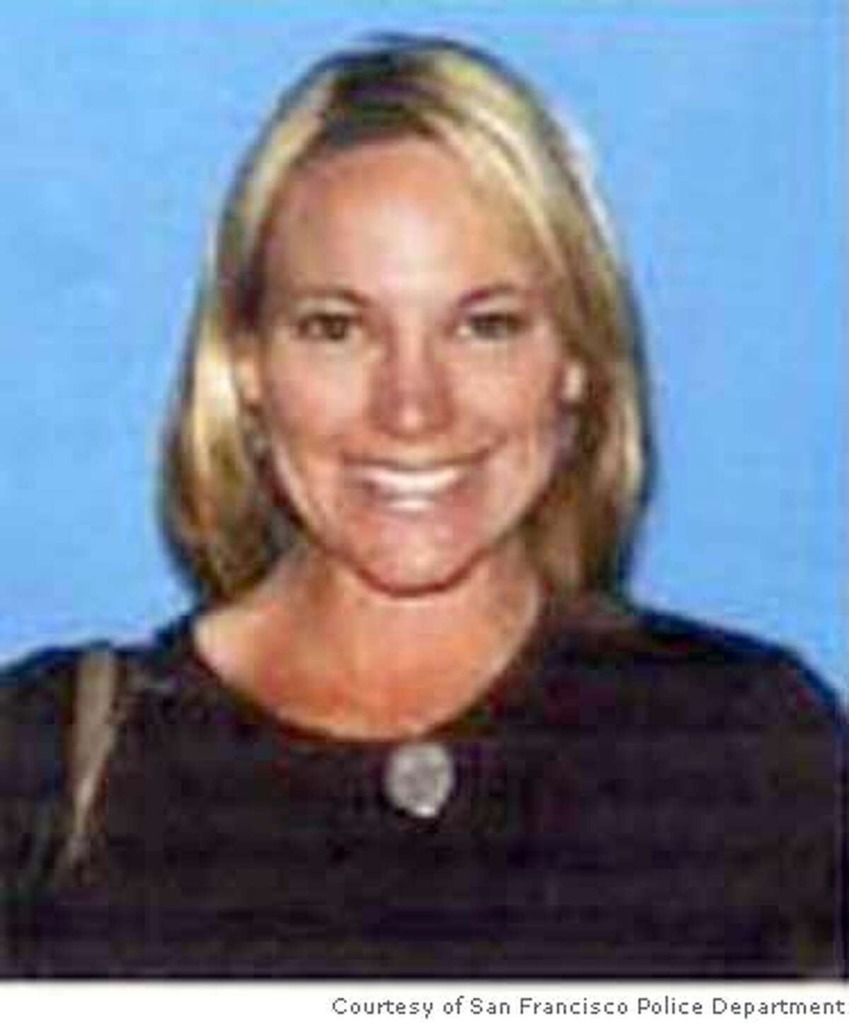 Undated handout image supplied by the San Francisco Police of Michelle Pinkerton, 38, a suspect in the death of Leonard Milo Hoskins, 49, of San Francisco, whose body San Francisco Police discovered in a van on February 1, 2008. San Francisco Police Homicide inspectors obtained a $5 million arrest warrant for Richard Carelli, 38, and a $1 million arrest warrant for Pinkerton. Courtesy of Ran on: 02-14-2008 Leonard Milo Hoskins Ran on: 02-14-2008 Leonard Milo Hoskins Ran on: 02-15-2008 Richard Carelli Ran on: 02-15-2008 Ran on: 02-15-2008 Ran on: 02-15-2008 Ran on: 02-15-2008 Ran on: 02-15-2008