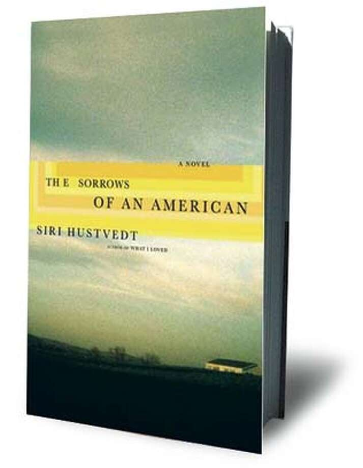 "Cover for Siri Hustvedt's new novel, ""The Sorrows of an American"" published by Henry Holt Company Photo: Henry Holt Company"