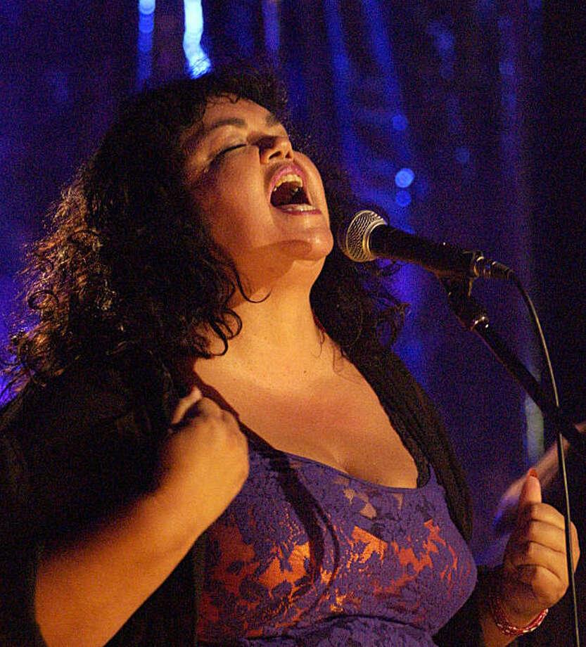 Deborah Iyall, former lead singer with Romeo Void Photo: Courtesy Deborah Iyall