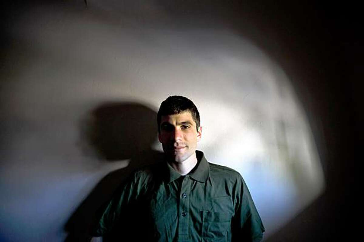 David Jay of San Francisco, the the founder of AVEN, Asexual Visibility and Education Network, a huge and growing online community for asexuals, shown here on Sunday, August 2, 2009, in his San Francisco, Calif., home.