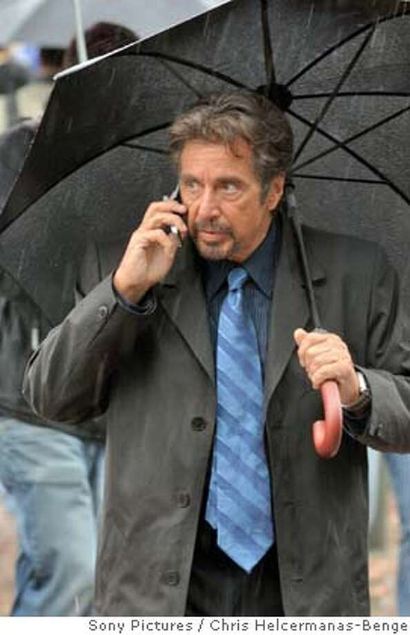 "In this image released by Sony Pictures Entertainment, Al Pacino is shown in a scene from the thriller "" 88 Minutes."")  In this image released by Sony Pictures Entertainment, Al Pacino is shown in a scene from the thriller "" 88 Minutes."" (AP Photo/ Sony Pictures Entertainment, Chris Helcermanas-Benge) ** NO SALES ** Photo: Sony Pictures Entertainment"