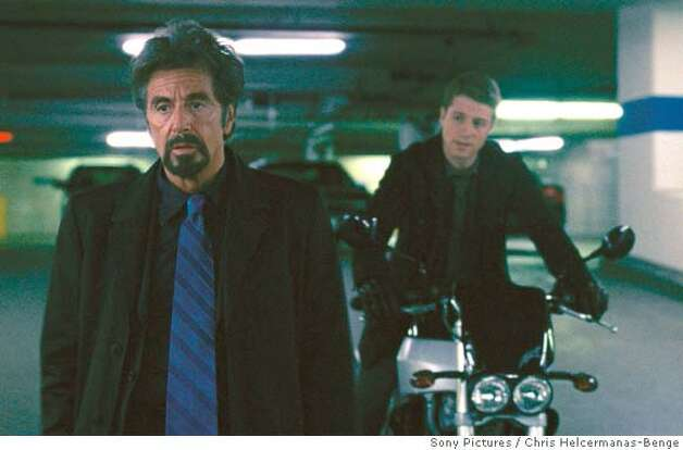 Al Pacino,  Benjamin McKenzie Photo: Sony Pictures Entertainment