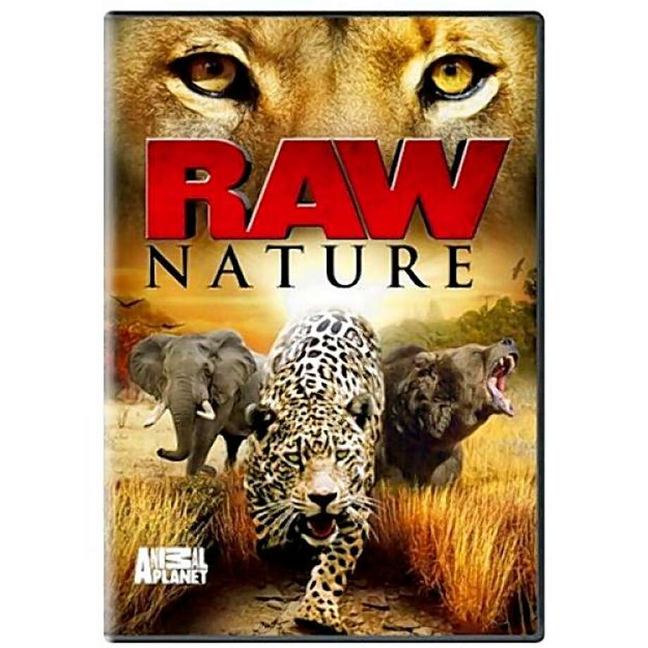 dvd cover RAW NATURE Photo: Amazon.com