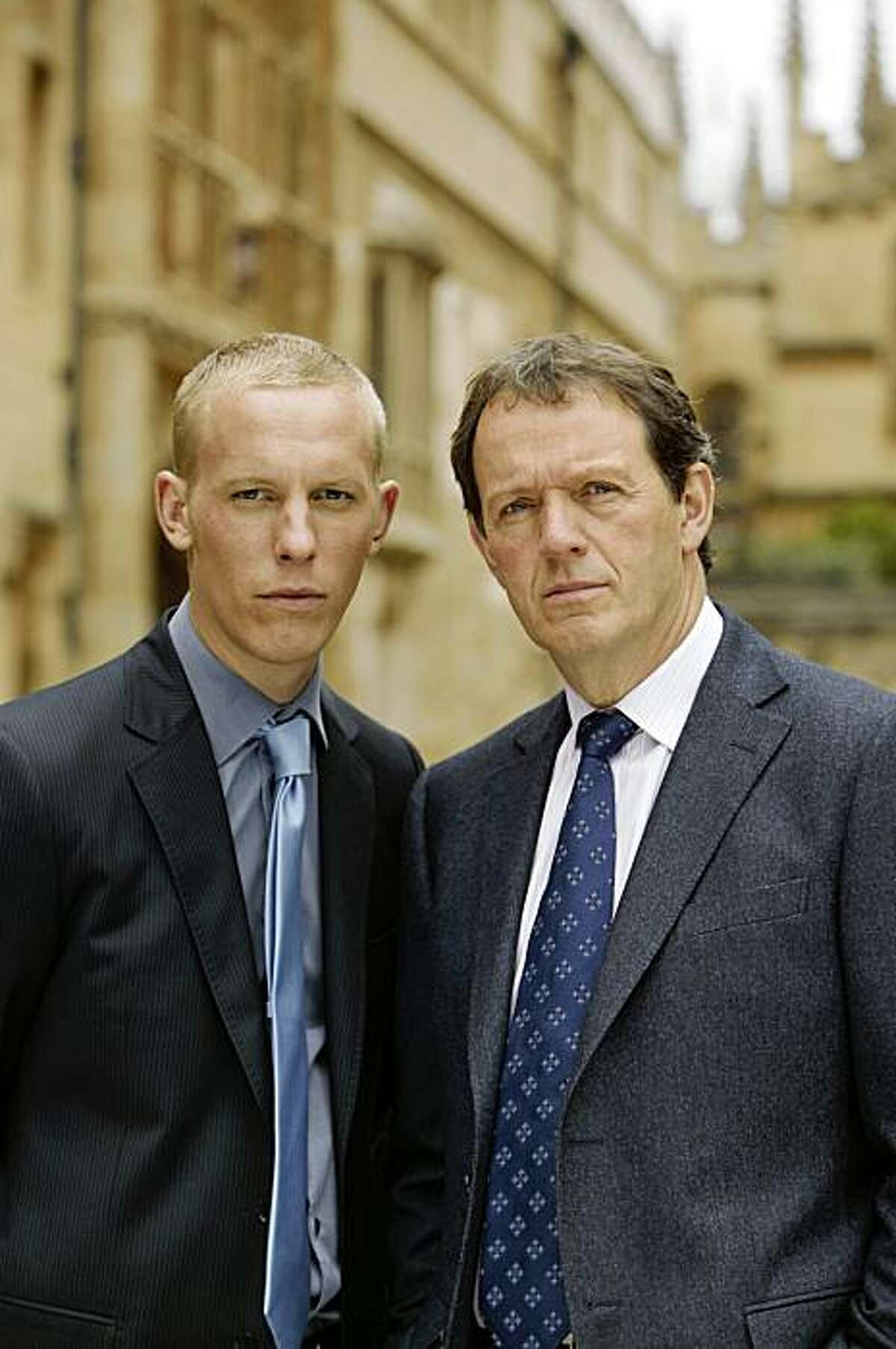 Kevin Whately (right) returns as Inspector Lewis for a second season. The much-loved Oxford policeman is joined once again by Laurence Fox (left) as his young partner DS Hathaway. As the relationship between inspector and sergeant grows and develops, the viewer sees new sides to the inimitable duo.