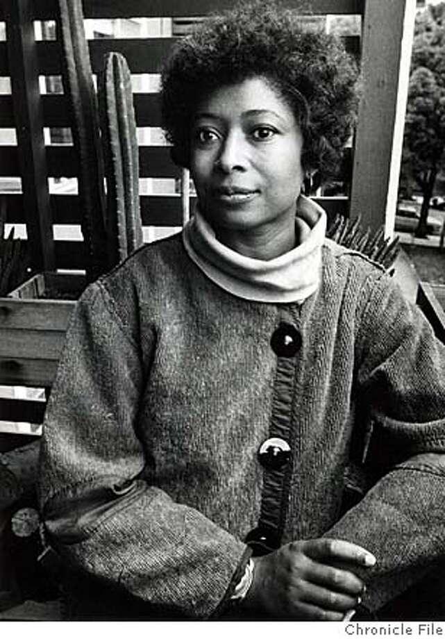 Alice Walker won a Pulitzer Prize in 1983.  Ran on: 04-13-2008  Alice Walker won a Pulitzer Prize in 1983. Photo: Chronicle File Photo 1983