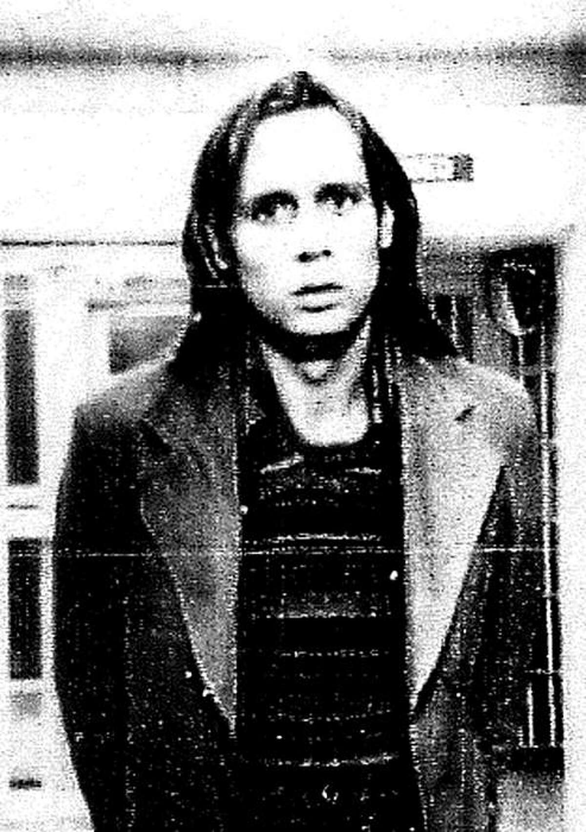 """This image provided by the Reno, Nevada Police Department shows a booking photograph of Phillip Garrido after his arrest Nov. 23, 1976 on kidnapping and rape charges. A Nevada woman, Katherine """"Katie"""" Callaway Hall, who was abducted and raped in 1976 by Garrido said Thursday Sept. 3, 2009 she believes he deserves the death penalty, although his crimes wouldn't qualify him. (AP Photo/Reno Police Department)"""