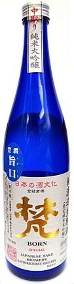 ###Live Caption:Born  Special  Japanese Sake Brewery  Katoukichibee Shouten###Caption History:Born  Special  Japanese Sake Brewery  Katoukichibee Shouten###Notes:###Special Instructions: Photo: Erick Wong / SFC