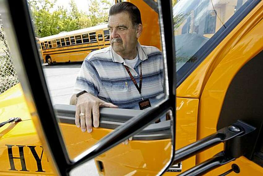 Ralph Knight is the Supervisor of Transportation for the district. The maintenance yard of he Napa Valley Unified School district on Friday August 28, 2009 in Napa, Calif., is filled with one of the most eco-friendly school bus fleets in Northern California if not the entire state.