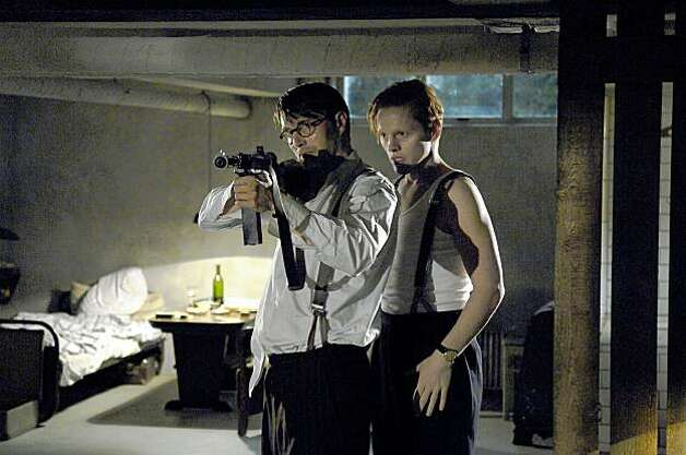 Mads Mikkelsen as Citron and Thure Lindhardt as Flame in FLAME & CITRON by Ole Christian Madsen. Photo: IFC Films