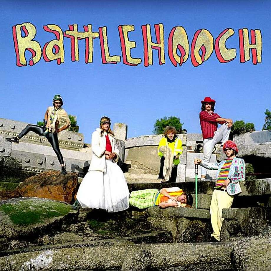 Battlehooch, from left, Tom Hurlbut, Grant Goodrich, Ryan Huber (above), Ben Juodvalkis, Patrick Smith and AJ Mckinley. Photo: Ruthie Anne Swanson