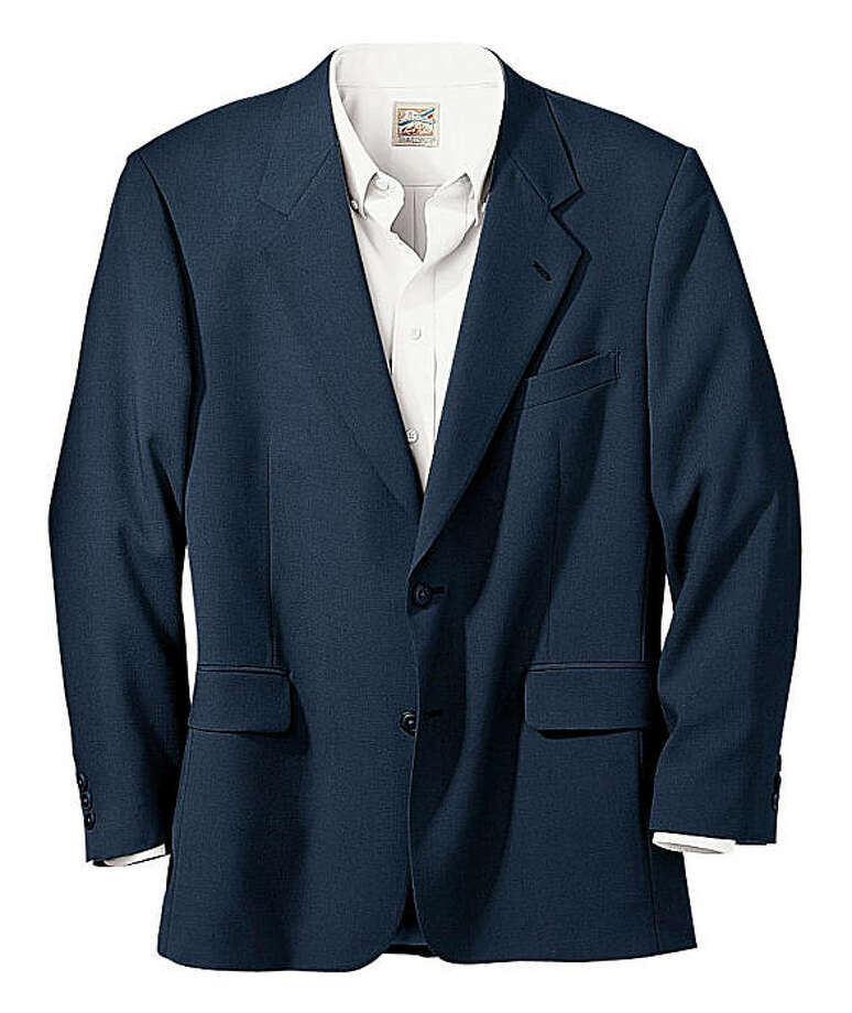 Classic Machine-Washable Two Button Coat, $189 from www.travelsmith.com 7373OLV.1839 Photo: Travel Smith