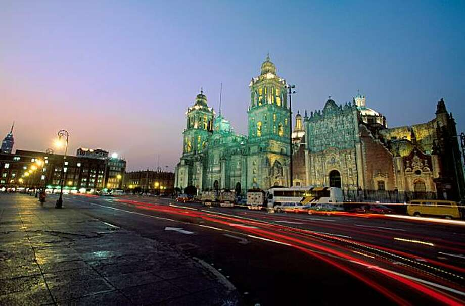 Mexico City's zocalo at night. Photo: Mexico Tourism Board