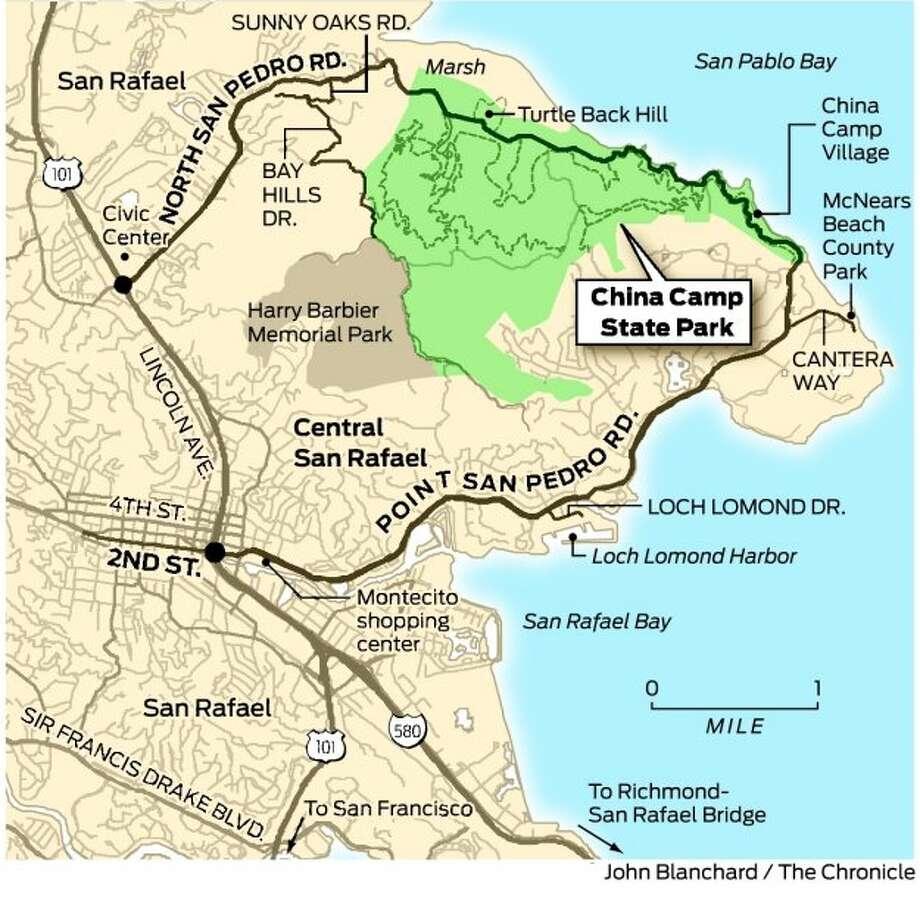china camp state park map Sunday Drive China Camp Cruise Sfgate china camp state park map