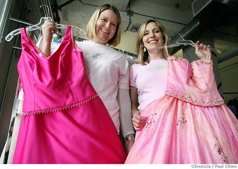 ###Live Caption:Laney Whitcanack, left, and Kristi Smith Knutson organize prom dresses in San Francisco, Calif., on Saturday, March 29, 2008. The two are recipients of a Jefferson Award for co-founding the Princess Project which provides free prom dresses to low-income teenaged girls.  Photo by Paul Chinn / San Francisco Chronicle###Caption History:Laney Whitcanack, left, and Kristi Smith Knutson organize prom dresses in San Francisco, Calif., on Saturday, March 29, 2008. The two are recipients of a Jefferson Award for co-founding the Princess Project which provides free prom dresses to low-income teenaged girls.  Photo by Paul Chinn / San Francisco Chronicle###Notes:Laney Whitcanack, Kristi Smith Knutson###Special Instructions:MANDATORY CREDIT FOR PHOTOGRAPHER AND S.F. CHRONICLE/NO SALES - MAGS OUT Photo: Paul Chinn