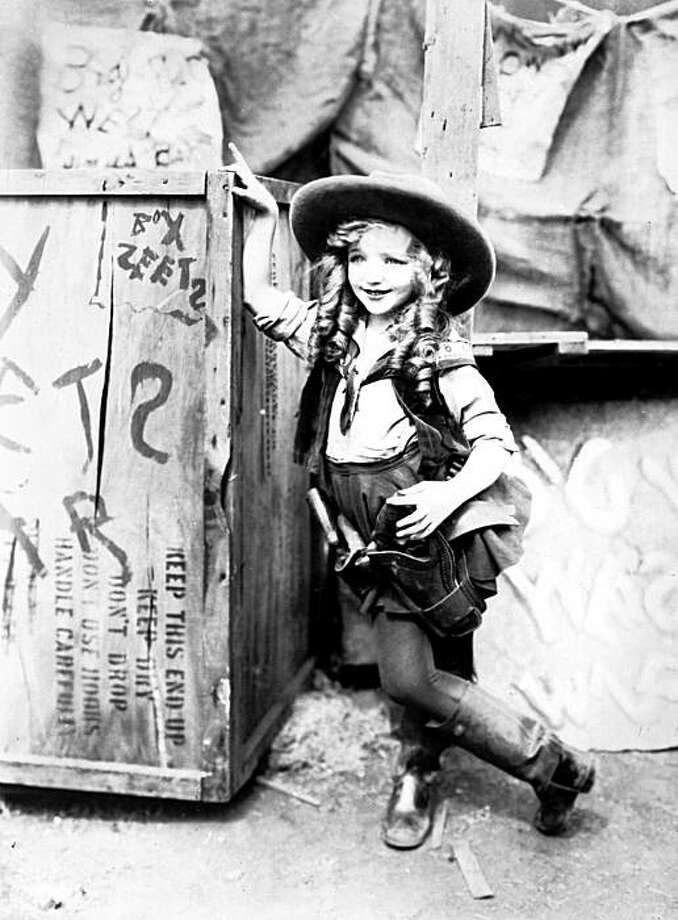 """In this 1924 publicity image released by the Walt Disney Co, Virginia Davis is shown in character in """"Alice's Wild West Show.""""  Davis, 90, who starred in the 1920s """"Alice"""" films under a young director named Walt Disney, died  from natural causes, Saturday, Aug. 15, 2009, at her home Saturday in Corona, Calif., according to The Walt Disney Co. Photo: Walt Disney Co., AP"""