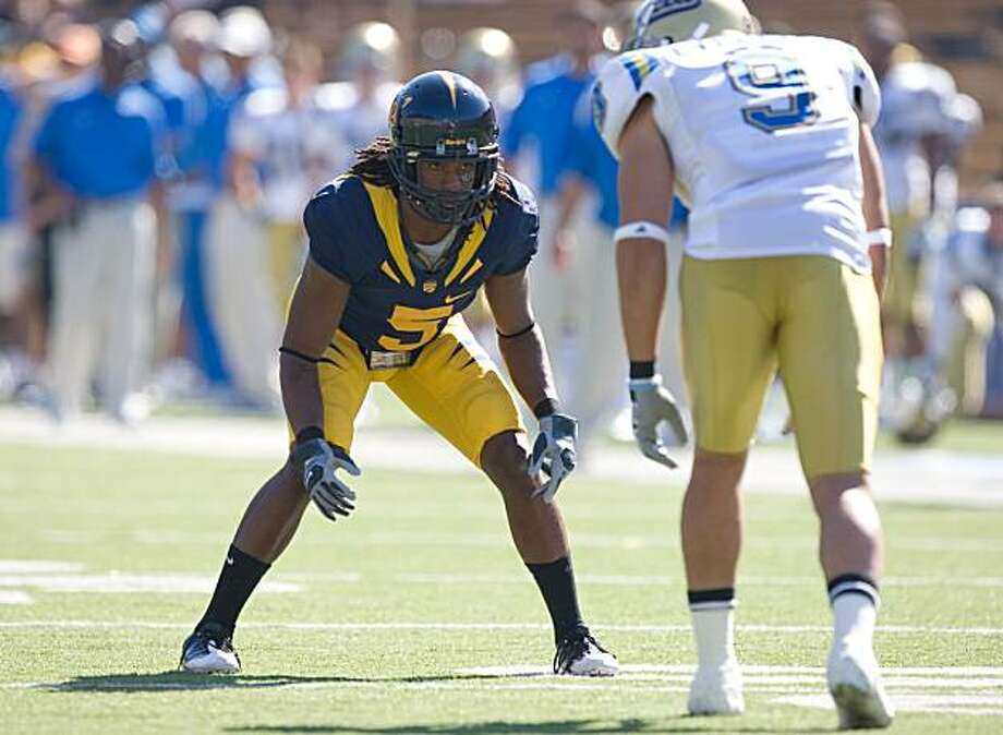 Syd'Quan Thompson, Cal, 2008 Photo: John Todd, GoldenBearSports.com