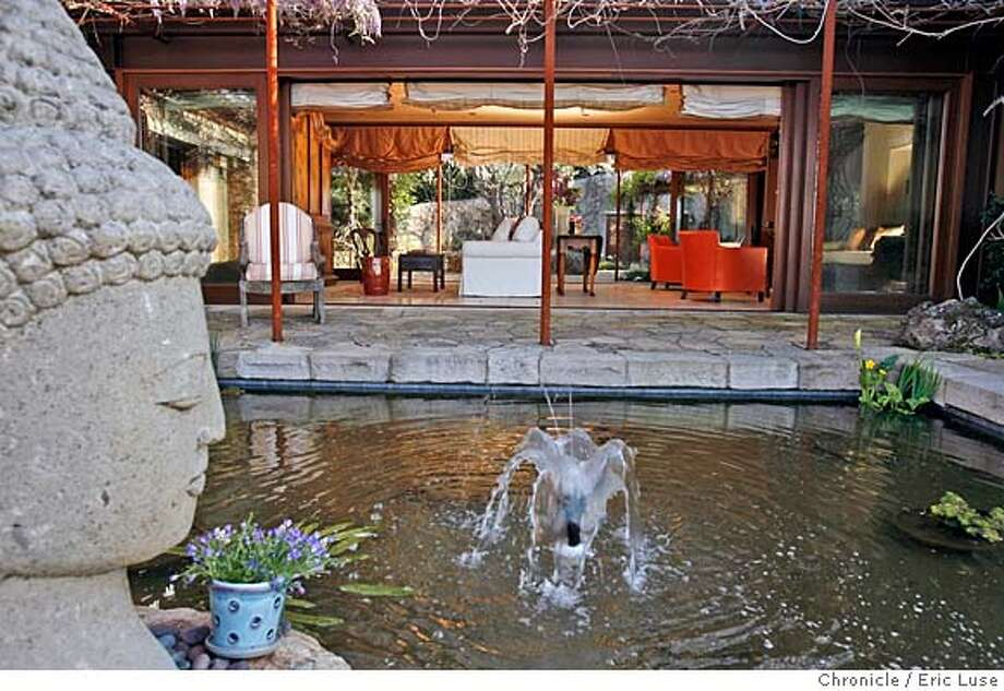 ###Live Caption:Sandy Lawrence's home in Napa, Calif., photographed on Tuesday April 1, 2008. She lives outside the city on Mt. George in a home built using a mixture of soil and concrete called PISE. It includes a small cave in which she host's yoga. Photo by Eric Luse / San Francisco Chronicle###Caption History:Sandy Lawrence's home in Napa, Calif., photographed on Tuesday April 1, 2008. She lives outside the city on Mt. George in a home built using a mixture of soil and concrete called PISE. It includes a small cave in which she host's yoga. Photo by Eric Luse / San Francisco Chronicle###Notes:Name cq by source  Sandy Lawrence###Special Instructions:MANDATORY CREDIT FOR PHOTOG AND SAN FRANCISCO CHRONICLE/NO SALES-MAGS OUT Photo: Eric Luse