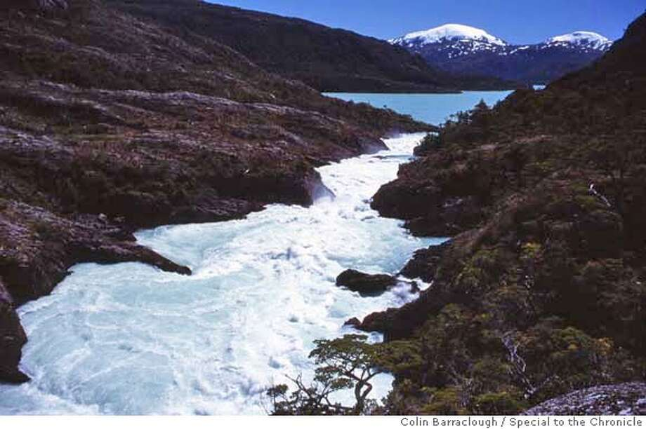 ###Live Caption:The first waterfalls and rapids just below the mouth of the Pascua River , viewed from the eastern bank in Chile's southern Patagonian region.###Caption History:The first waterfalls and rapids just below the mouth of the Pascua River , viewed from the eastern bank in Chile's southern Patagonian region.###Notes:###Special Instructions: Photo: By Colin Barraclough, Special To