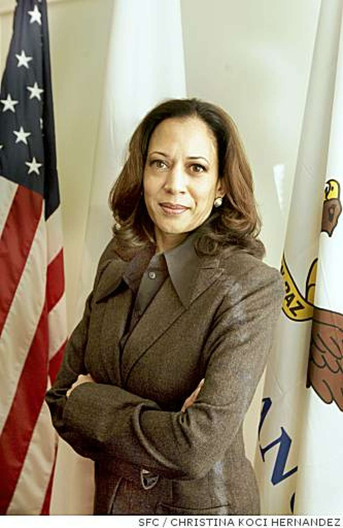 SF District Attorney Kamala Harris.