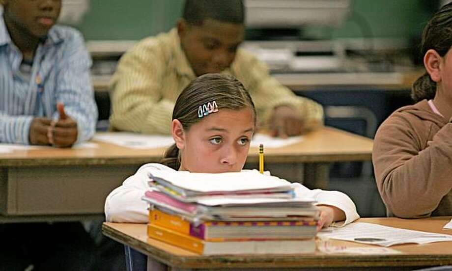 For explainer on California Standards Test results 2008 Photo: Frederic Larson, The Chronicle
