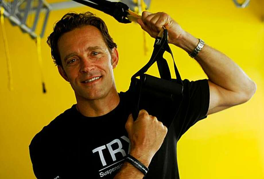 Randy Hetrick, founder of the Fitness Anywhere and developer of the TRX system of suspension training, poses at the  training facility, Wednesday August 19, 2009, in San Francisco, Calif. Photo: Lacy Atkins, The Chronicle