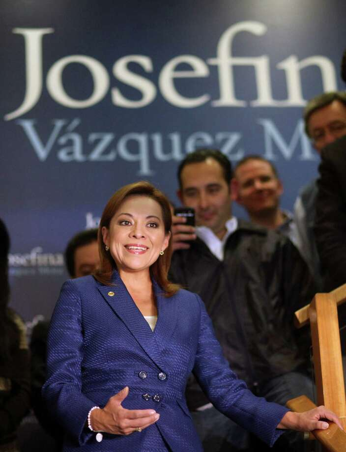 Josefina Vázquez-Mota was a member of Congress. Photo: Alexandre Meneghini / AP