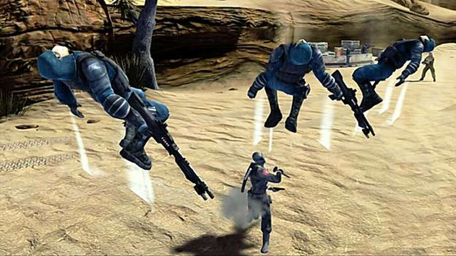 G.I. Joe: Rise of the Cobra is now a video game. Photo: Electronic Arts