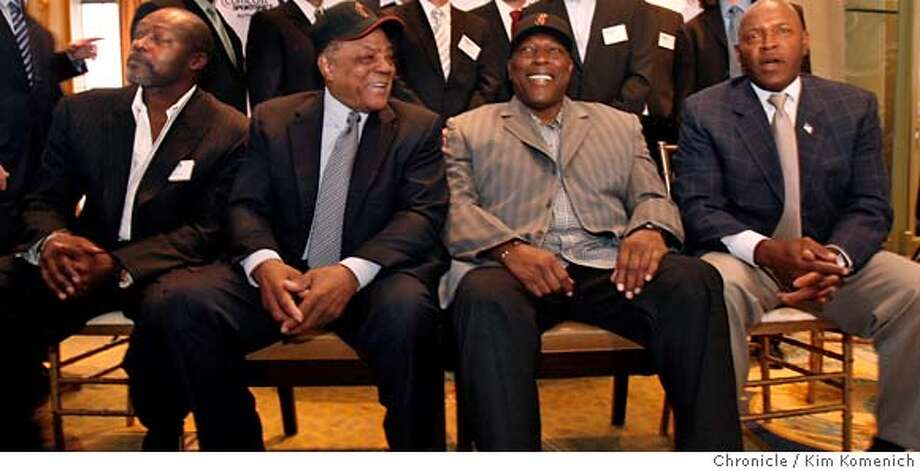 "###Live Caption:From left, Dave Stewart, Willie Mays, Willie McCovey and Vida Blue are among the Bay Area sports legends who gathered Wednesday, March 26, 2008 at the St. Francis Hotel in San Francisco, Calif. to help promote Comcast's re-launch of ""Sportsnet Bay Area"". Photo by Kim Komenich / San Francisco Chronicle###Caption History:From left, Dave Stewart, Willie Mays, Willie McCovey and Vida Blue are among the Bay Area sports legends who gathered Wednesday, March 26, 2008 at the St. Francis Hotel in San Francisco, Calif. to help promote Comcast's re-launch of ""Sportsnet Bay Area"". Photo by Kim Komenich / San Francisco Chronicle###Notes:are among the Bay Area sports legends who gathered Wednesday, March 26, 2008 at the St. Francis Hotel in San Francisco, Calif. to help promote Comcast's re-launch of ""Sportsnet Bay Area"". Photo by Kim Komenich / San Francisco Chronicle###Special Instructions:MANDATORY CREDIT FOR PHOTOG AND SF CHRONICLE/NO SALES-MAGS OUT Photo: Kim Komenich"