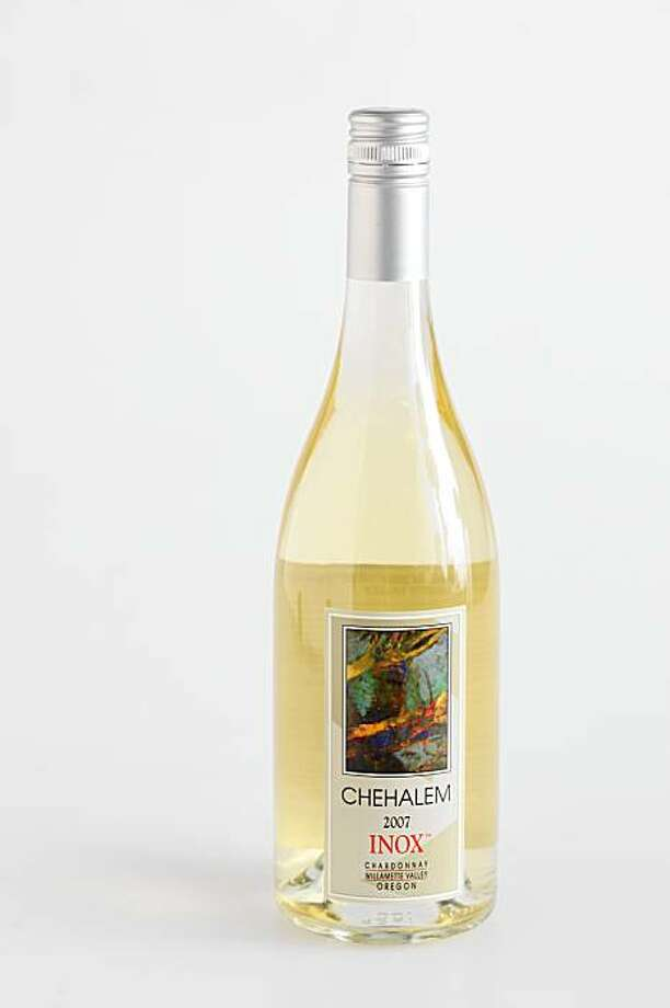 2007 Chehalem Inox Willamette Valley Chardonnay in San Francisco, Calif., on August 12, 2009. Photo: Craig Lee, Special To The Chronicle
