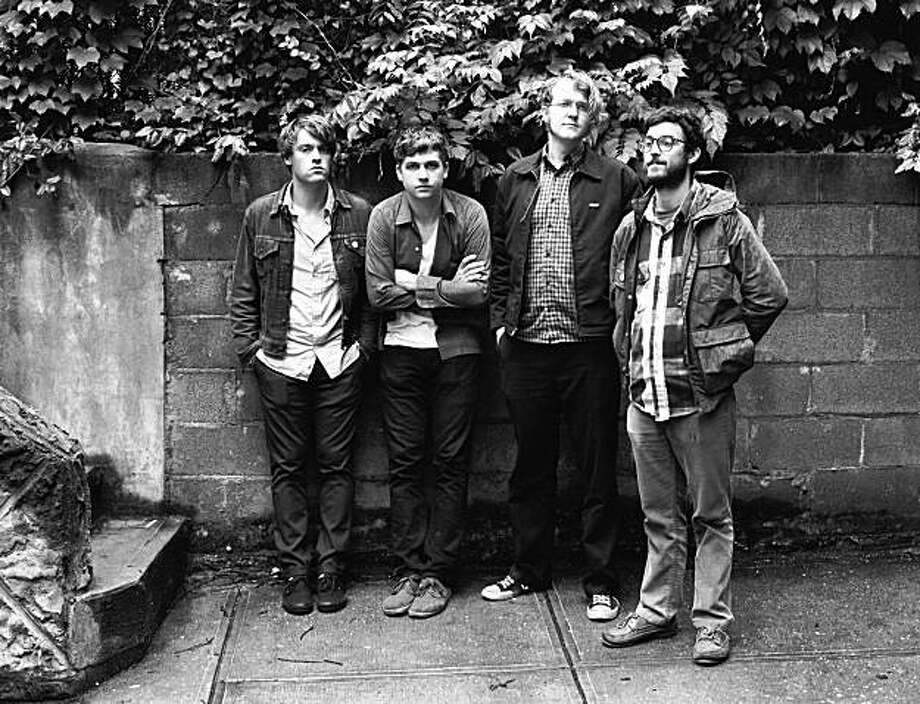 Woods, featuring (from left) Jarvis Taveniere, Kevin Morby, G. Lucas Crane and Jeremy Earl. Photo: Nick Haggard